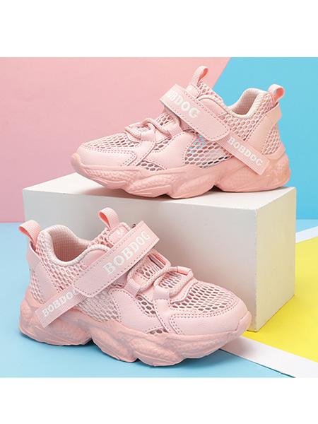 巴布豆童装品牌2021春夏时尚彩色运动鞋