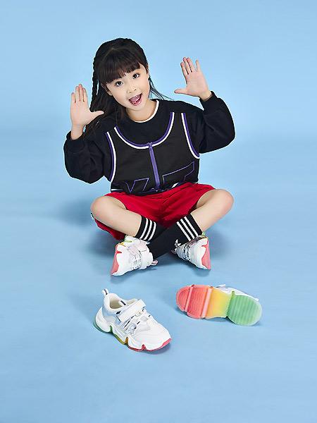 沙驰童鞋童鞋品牌2021春夏潮流运动弹性鞋