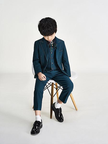 沙驰童鞋童鞋品牌2021春夏绅士皮鞋