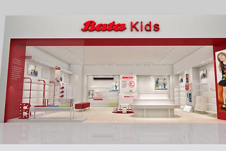Bata童鞋店铺展示