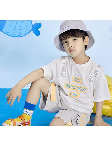 宝贝传奇童装品牌2021春夏韩式T恤