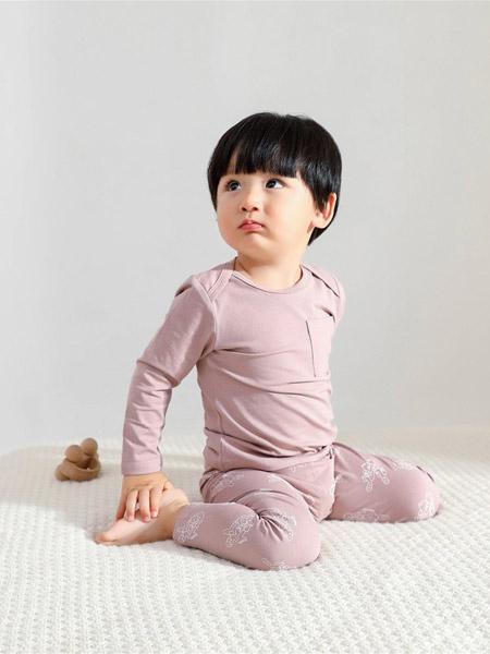 Petit Kami贝蒂卡密童装品牌2021春夏藕粉色睡衣