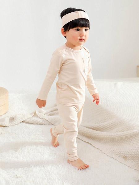 Petit Kami贝蒂卡密童装品牌2021春夏简约风睡衣套