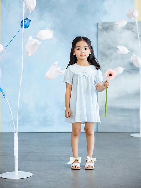 德蒙斯特童装品牌2021夏季可爱甜美连衣裙