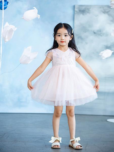 德蒙斯特童装品牌2021夏季蓬蓬公主裙