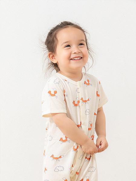 babylove娃爱的蓓蓓童装品牌2021夏季薄款透气睡衣