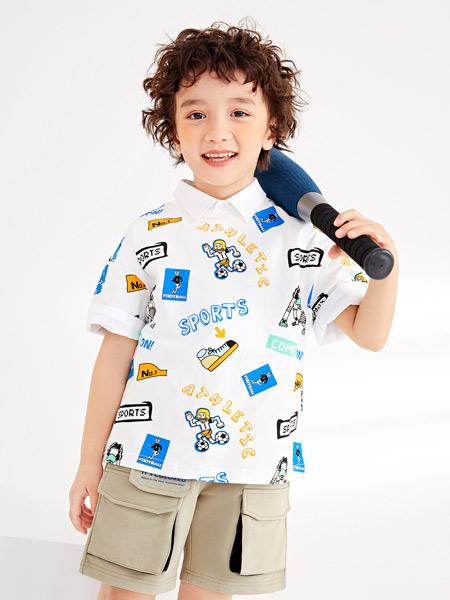 gxg.kids童装品牌2021夏季POLO衫阳光男孩上衣