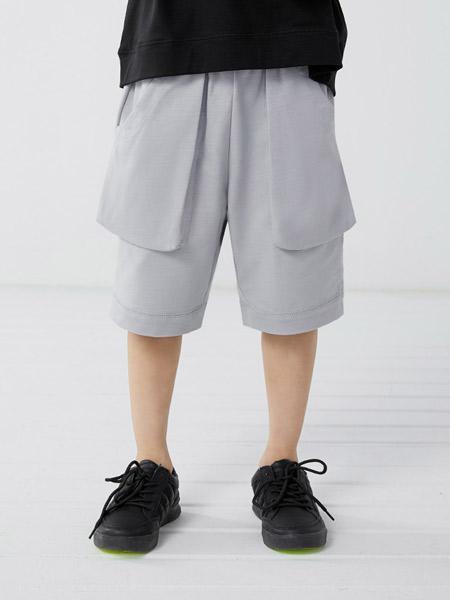 koalamoon /考拉和月亮童装品牌2021夏季清爽简约休闲裤