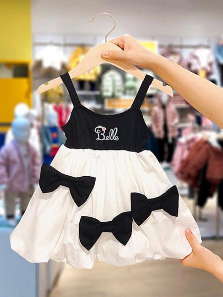 史努比/凯蒂猫/小叮当/迪士尼童装品牌2021夏季吊带可爱连衣裙
