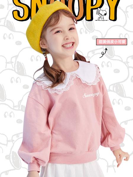 史努比/凯蒂猫/小叮当/迪士尼童装品牌2021春季洋气卫衣长袖薄款