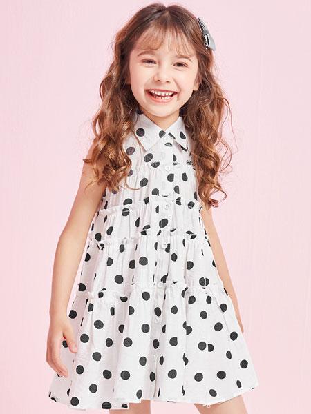 史努比/凯蒂猫/小叮当/迪士尼童装品牌2021夏季连衣裙韩系洋气儿童裙子