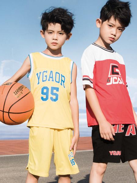 永高人童鞋品牌2021夏季运动服装套装