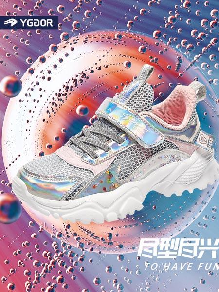 永高人童鞋品牌2021夏季新款女孩轻便跑步鞋