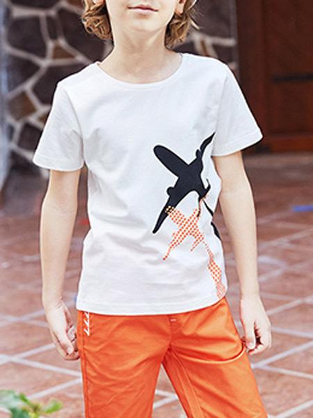 智比兔童装品牌2021秋季童装男童针织衫秋装新款纯棉毛衣