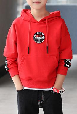 智比兔童装品牌2021秋季男童印花棉质短袖套装儿童套装两件套