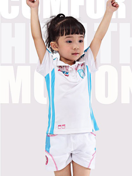 FKB童装童装品牌2021夏季运动T恤裤子
