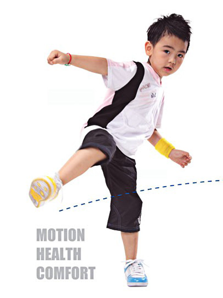 FKB童装童装品牌2021夏季黑白搭配运动套装