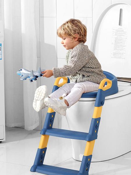 嘟萌贝婴童用品坐便器马桶梯男女宝宝小孩厕所马桶架阶梯式