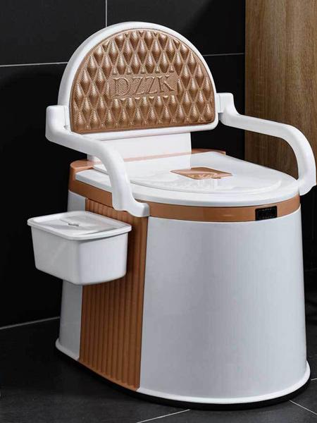 嘟萌贝婴童用品家用移动成人马桶孕妇老人坐便器塑料易清洗安全室内防滑痰盂