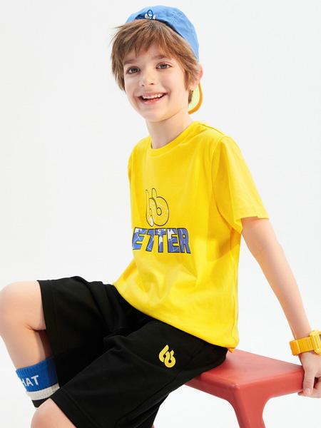 昕季雨童装品牌2021夏季运动T恤休闲裤
