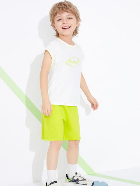 昕季雨童装品牌2021夏季韩版背心T恤休闲裤