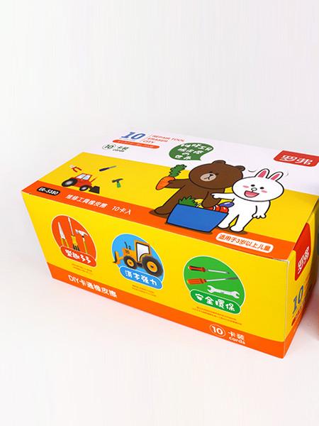 罗弗/Loufor婴童玩具维修工具橡皮檫 DIY卡通橡皮