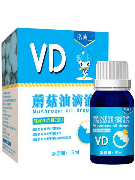 婴儿食品彤博士VD蘑菇油滴液