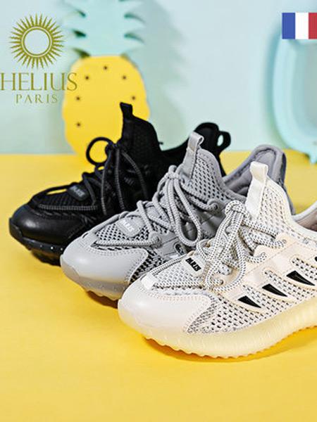 HElIUS赫利俄斯童鞋品牌2021夏季单网透气休闲鞋椰子鞋潮