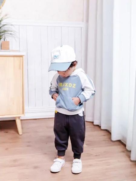 缝纫机小队长童装品牌2021夏季韩版休闲卫衣