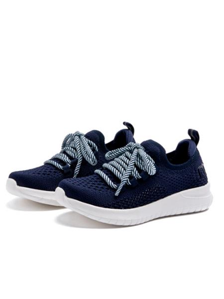 M1&M2童鞋品牌2021春夏超轻飞织亲子款运动鞋男女童软底一脚蹬