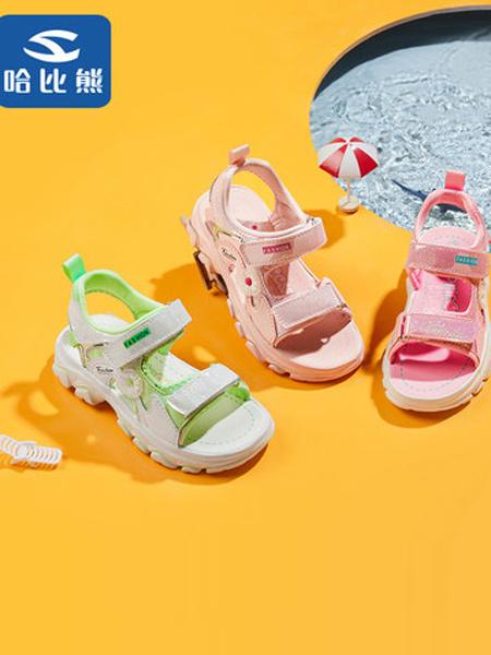 HappyBear哈比熊童鞋品牌2021夏季新款中大童春季童鞋女孩软底儿童公主鞋