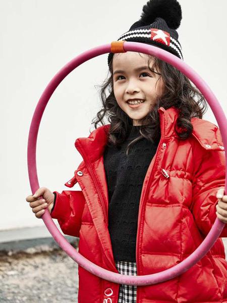 JOJOBO啾比乐童装品牌2021秋冬红色大气外套
