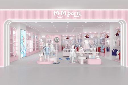 M.M party国际女童IP集成店店铺展示