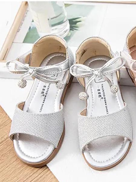 MOMX莫莫熙童鞋品牌2021夏季公主蝴蝶结凉鞋