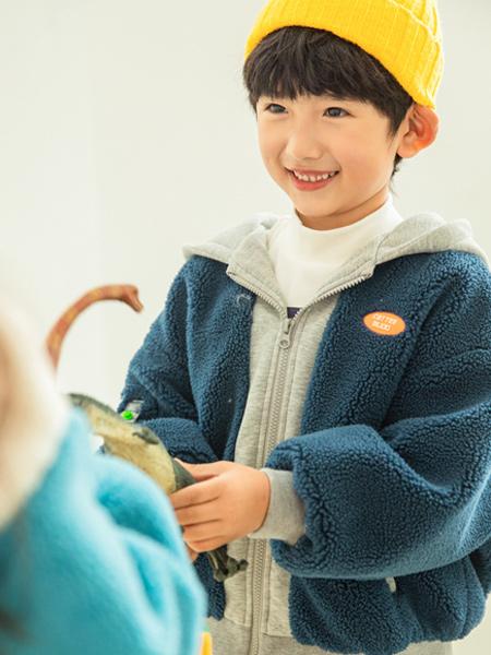 淘气贝贝童装品牌2021秋冬羊毛衫外套