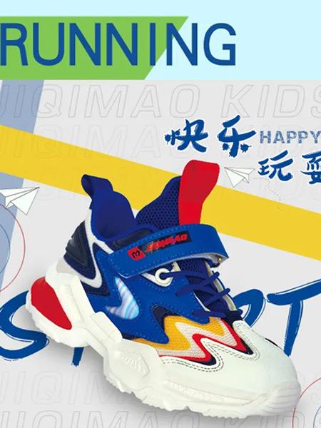 机器猫童鞋品牌2021夏季撞色拼接运动鞋