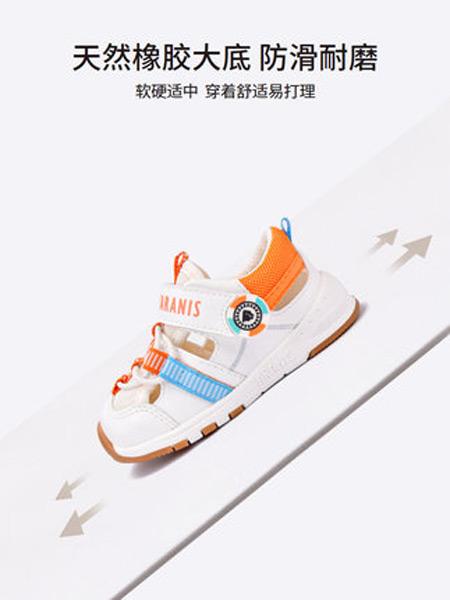 泰兰尼斯童鞋品牌2021夏季镂空女宝宝透气防滑软底机能学步鞋