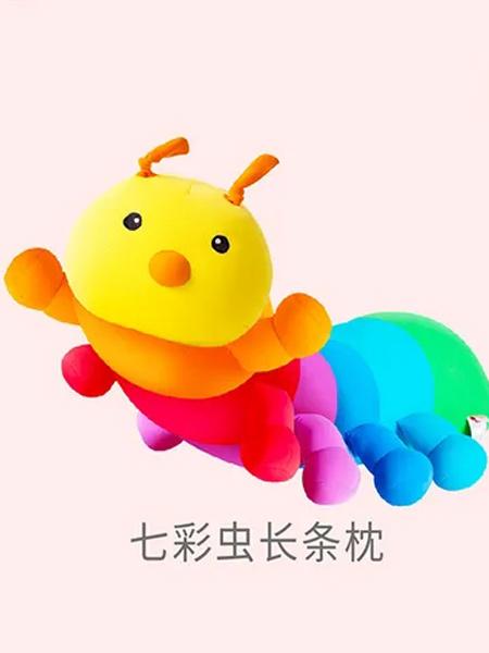 sheepet/舒宠粒子公仔婴童用品2021七彩虫长条枕