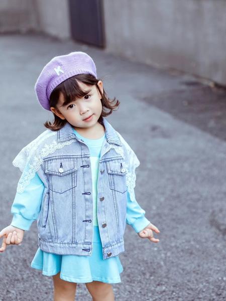 妙优童装品牌2021秋冬百搭牛仔夹克外套