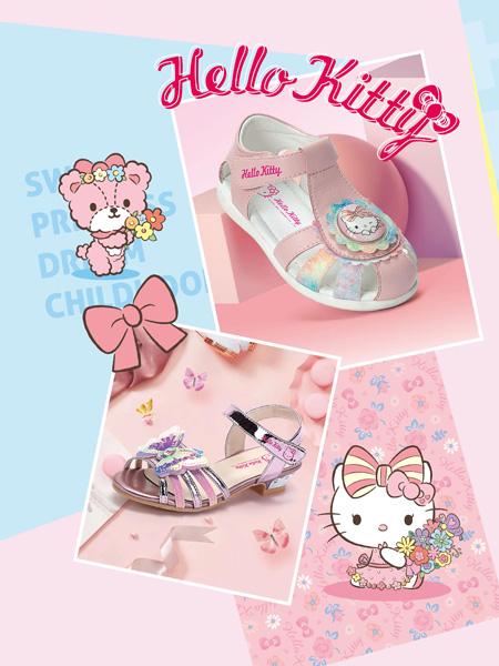 M.M party童鞋品牌2021夏日凯蒂猫HELLO KITTY公主凉鞋
