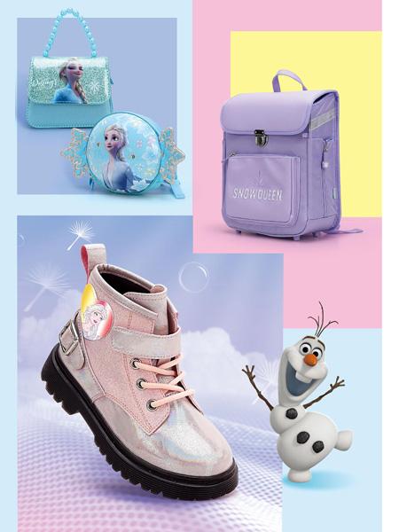 M.M party童鞋品牌2021秋冬冰雪奇缘Frozen公主潮童短靴
