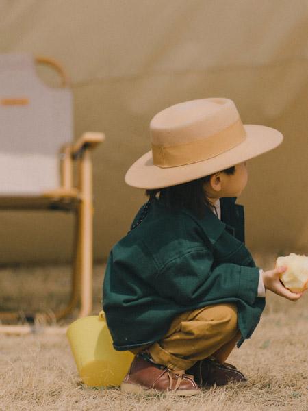 蒂萨纳D`sana童装品牌2021秋季绿色休闲外套