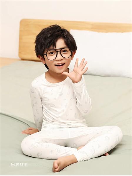 歌贝儿gber童装品牌2021秋季纯棉睡衣