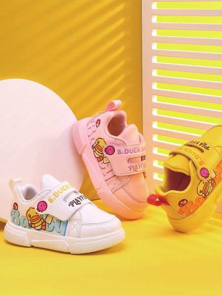 小黄鸭B.Duck Baby童鞋品牌2021秋冬魔术贴学步鞋