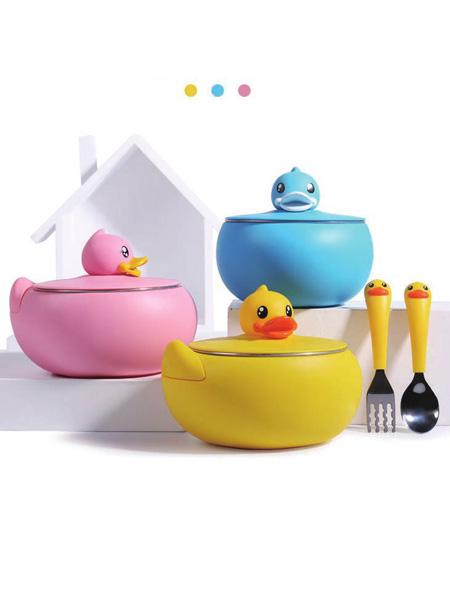 小黄鸭B.Duck Baby(河南)婴童用品趣味餐盒