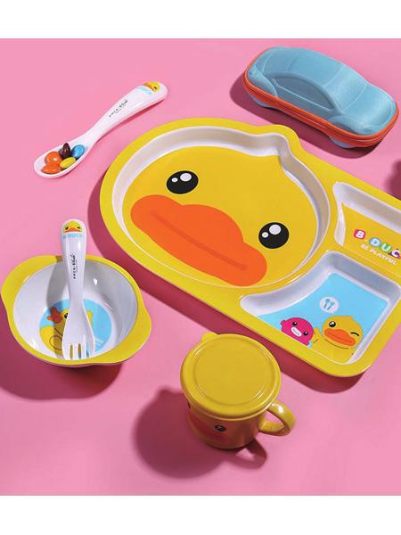 小黄鸭B.Duck Baby婴童用品趣味餐具