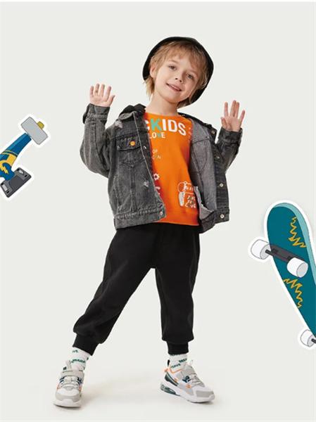 ABC KIDS童装品牌2021秋季百搭时尚牛仔外套