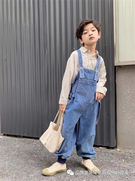 武林兵团童装品牌2021秋季通勤风时尚背带裤