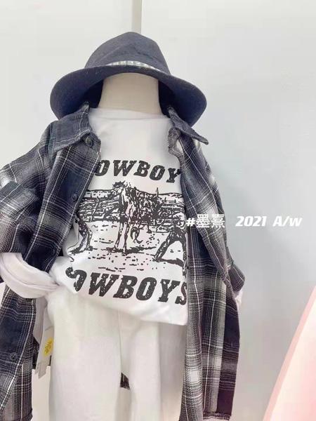 小明星童装品牌2021秋冬格纹衬衫
