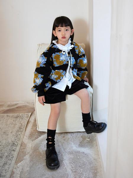拉酷儿童装品牌2021秋冬羊毛羔保暖外套